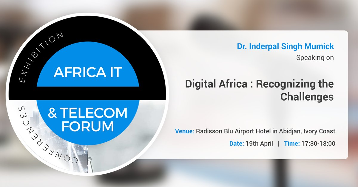 kirusa ceo inderpal singh mumick at africa telecom it forum 2018