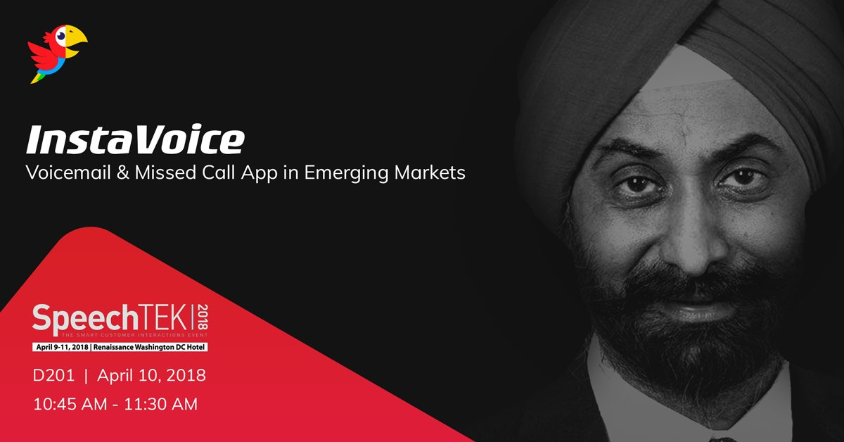 kirusa ceo inderpal singh mumick at speechtek 2018